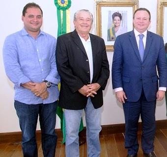 Weverton Rocha, José Reinaldo Tavares e Carlos Brandão
