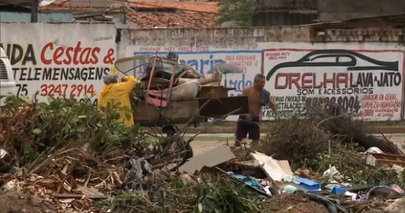 Jornal Nacional: proliferação de lixões clandestinos atrapalha combate ao Aedes no MA