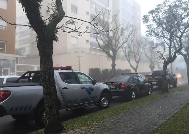 PF realiza ação relacionada a desmembramento da 18ª fase da Lava Jato (Foto: Sergio Tavares/ G1).