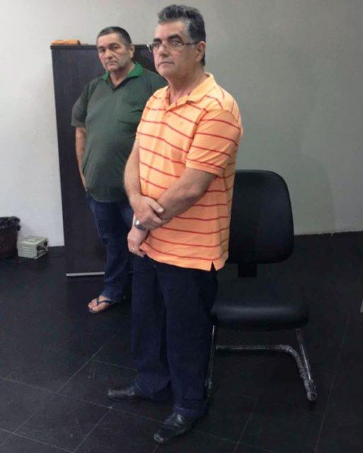 Prefeito de Paulo Ramos Tancledo e o irmão Joaquim