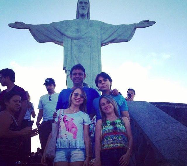 prefeita Valéria e família no Rio