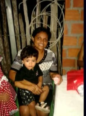 Mãe e o filho de 1 ano e meio foram vítimas