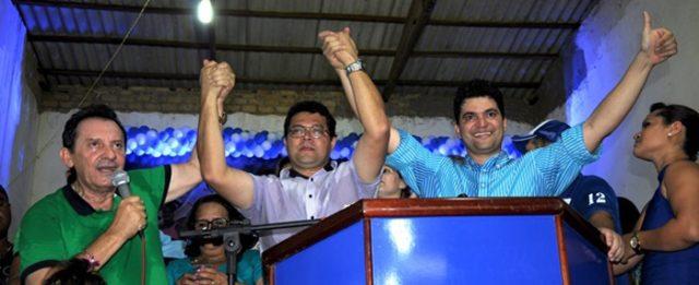 Zito Rolim, Ricardo Torres e Nagib Oliveira
