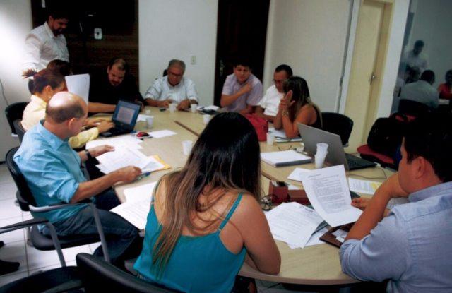 Equipes se reuniram nesta quarta-feira na sede da prefeitura ribamarense