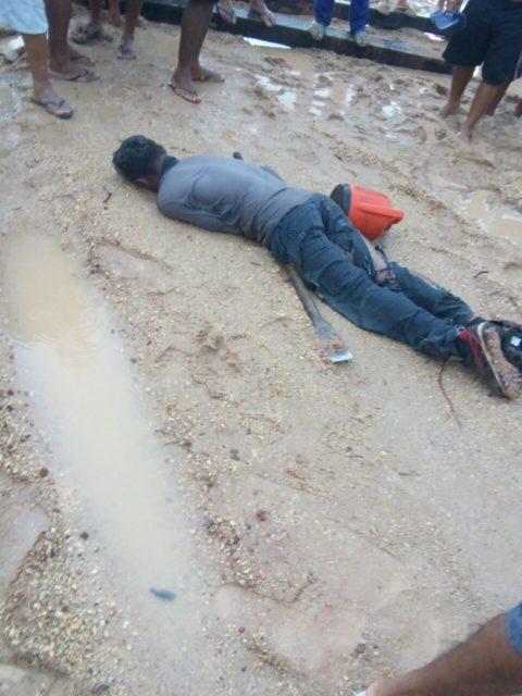 Resultado de imagem para homem morre apos ser atingido por raio em santa ines