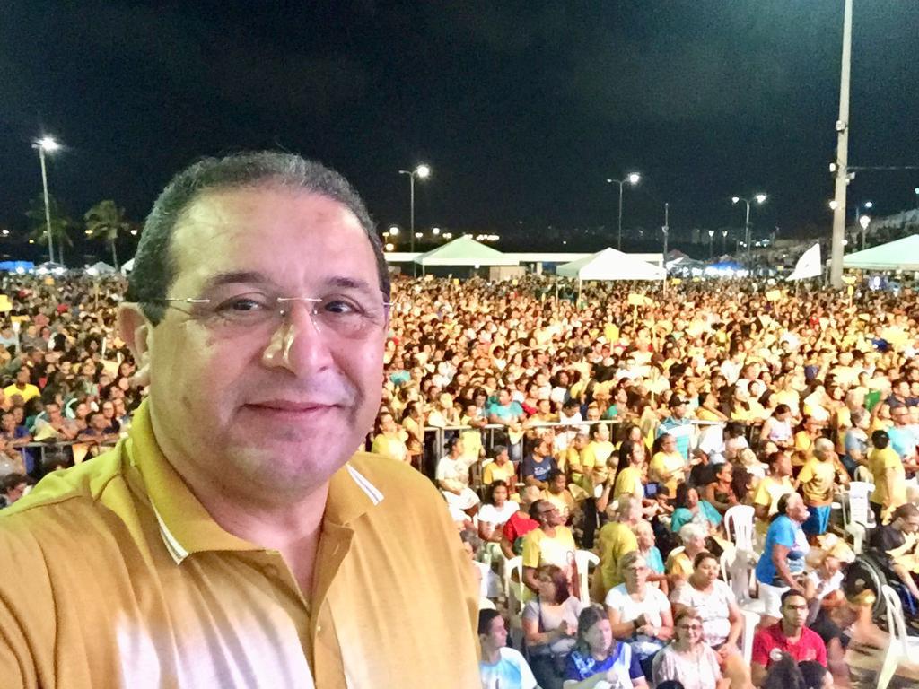 Jota Pinto participa do encerramento do Festejo de Nossa Senhora ...
