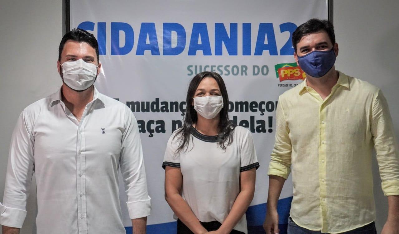 Cidadania e PCdoB juntos: Eliziane escolhe Rubens para prefeito de ...